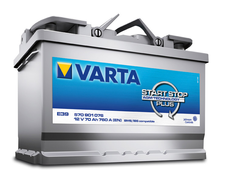 Start Stop Car battery by VARTA one of the many automobile products sold by Sussex Engine Supplies, Bognor Regis.