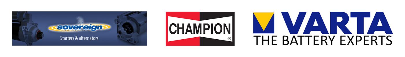 Sovereign starters and alternators, Champion and Varta