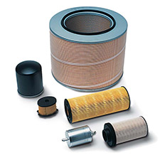 Filters by Mahle, car parts supplied by SES, Bognor